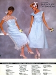 Intermezzo 2  House of Bianchi bridal couture - U.S. Modern Bride 12-1985