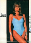 Body by Roxanne ad. blue swimsuit - U.S. The N.Y. Times 13.12.87