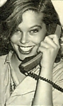 1982 b/w telephone - danish BILLED BLADET