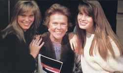 with Monika and Eileen Ford - canad. Graffitti #5 1988