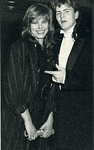 at Golden Globe Award 1986 with J.T. - dutch Hitkrant 29.10.88 #43