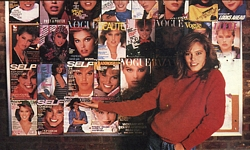 ital. MODA Oct. 1986 - cover wall pic
