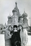 Kremlin with Christy and Monika - MONIKA book