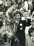 Bob Geldof wedding - U.K. Sunday 19.10.86