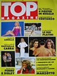 ital. TOP MAGAZINE #1 1986 cover