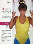 """How good is your body?"" 2 - australian Cosmo 04/86 by Bruno Gaget"