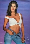 FORD 1987 poster jeans white top by Gordon Munro
