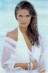 """Capelli..."" white swimsuit- ital. Grazie 17.07.94 by Marc Kayne"