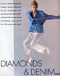 """DIAMONDS & DENIM"" 1 - U.S. HB 4-85 by Tony McGee"