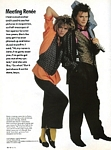 """J.T. likes it hot"" 2 - U.S. In Fashion Fall 1985 by Barry McKinley"