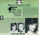 """FOUR NEW MODELS"" - U.S. Mademoiselle 12-82 by Robert Browne"