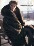 """FURS NOW"" 1 - U.S. VOGUE 09-83 by Arthur Elgort"
