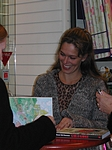30. Nov. 2003 at danish book-store Gad in Brabrand, Karlas Kabale promo-tour 4