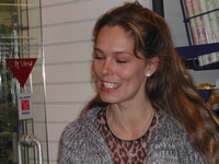 30. Nov. 2003 at danish book-store Gad in Brabrand, Karlas Kabale promo-tour 6