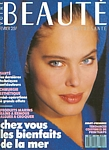 french VOTRE BEAUTE Feb. 1988 cover by Thierry Rouchon