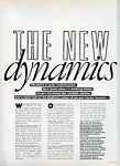 """THE NEW dynamics"" 0 - U.K. Beauty & Health in VOGUE by Albert Watson"