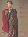 SKINNER Bill Blass - U.S. VOGUE Patterns 9-10 1985