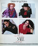 bloomingdale´s cover x-mas sale 1983