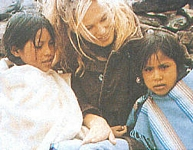 danish - 1997 in Bolivia with Joaqina and another child