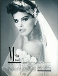 U.S. BRIDE´S Aug./Sep. 1984 Mellow Moods pg. 1