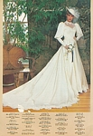 J.P. Originals Ltd. 1 bridal couture - U.S. Modern Bride 8-9 1985