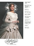 Reflections 1 bridal couture - U.S. Modern Bride 8-9 1987