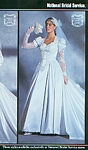 National Bridal Service bridal couture - U.S. Modern Bride 2-3 1988