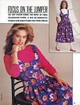 """FOCUS ON THE JUMPER"" 1 - U.S. Butterick Fall 1985 by Martine Julien"