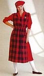 """FOCUS ON THE JUMPER"" 2 zoomed - U.S. Butterick Fall 1985 by Martine Julien"