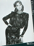Christian Dior18 b/w - french Bazaar 9/10-1983