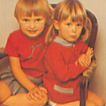 danish Asschenfeldts Magasin Feb. 1997 - 2 little girls