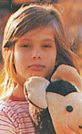 danish Asschenfeldts Magasin Feb. 1997 - girl with bear