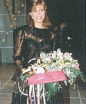 danish COSTUME Nov. 2003 Ford contest pic with bouquet