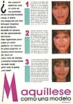 Peru COSMOPOLITAN Belleza #2 1986 by Jacques Silberstein - 2 same U.S. Cosmo Beauty&Fitness Spring 1985