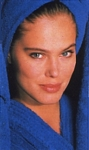 """Health & Beauty Treats"" blue towel - U.K. Cosmo 12-88 by Thierry Rouchon"