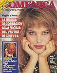 ital. DOMENICA DEL CORRIERE 16.11.1985 cover by Petrosino/Guardrini