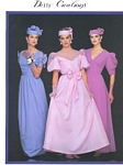 Dessy Creations 3 bridal couture - U.S. Modern Bride 2-3 1984