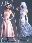 Dessy Creations 3 bridal couture - U.S. Modern Bride 2-3 1987