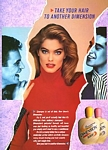 DIMENSION shampoo - U.K. HAIR Autumn 1987