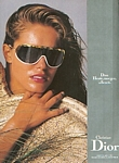 Christian Dior 9 glasses - german VOGUE 10-1988