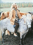 danish Asschenfeldts Magasin Feb. 1997 - riding horse