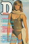 ital. DOLLY 30.07.1984 cover by Gilles Bensimon