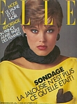 french ELLE 30. May 1983 cover by Marc Hispard