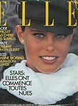 french ELLE 5. Sep. 1983 cover by Gilles Bensimon