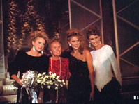 ital. MODA Feb. 1985 - Ford contest pic with winner Catherine Ahnell