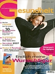 austrian Gesundheit 01-2007 cover by Clarins Ventre-Taille ad. pic