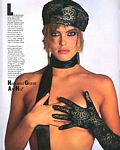 "U.S. BAZAAR Nov. 1985 ""Hats and Gloves are Hot"" 4 by Francesco Scavullo"