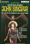 german JOHN SINCLAIR #696 cover by Alberta Tiburzi