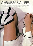 french Madame Figaro 6. Feb. 1988 edit CHEMISES 1 by Christophe Jouany