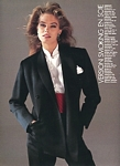 french Madame Figaro 6. Feb. 1988 edit CHEMISES 3 by Christophe Jouany